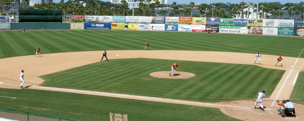 Jackie Robinson Ballpark, March 2007